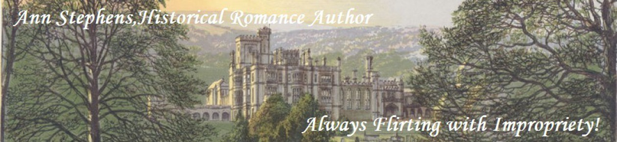 Ann Stephens, Historical Romance Author