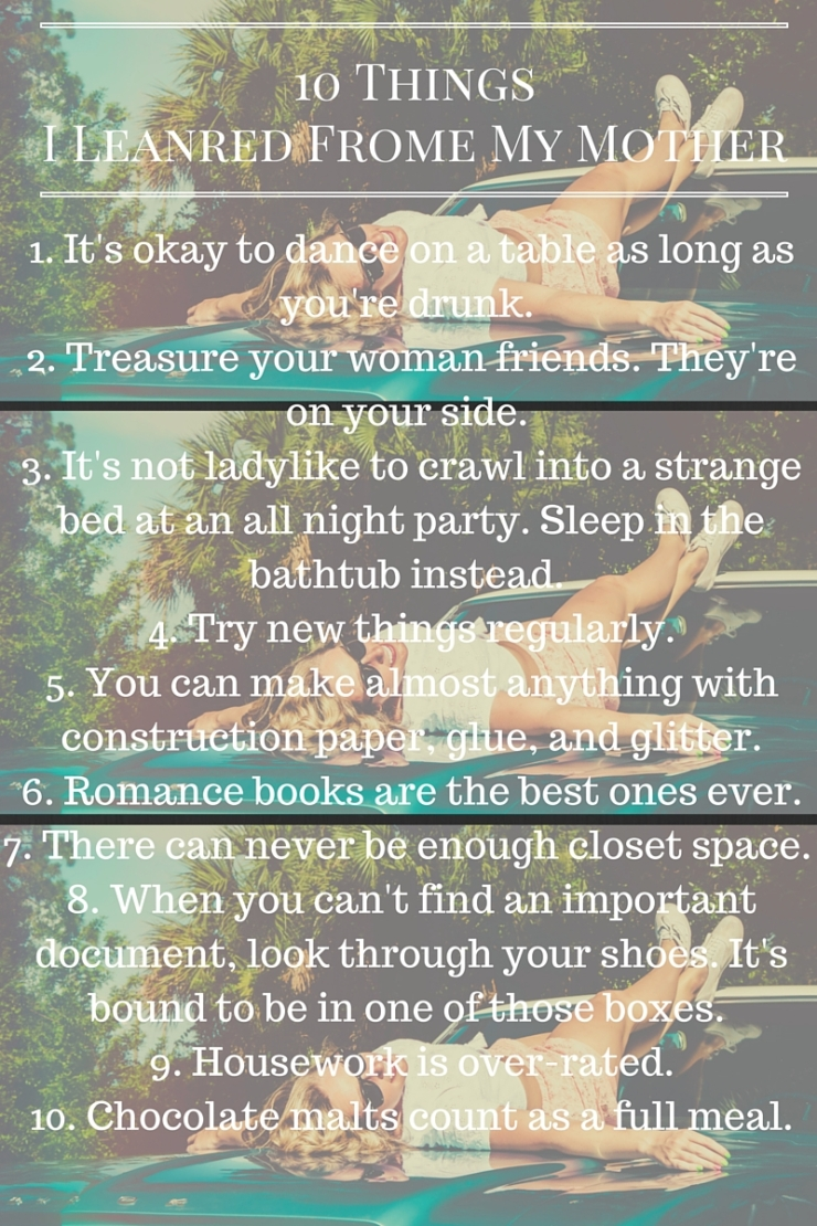 10 Things Mom